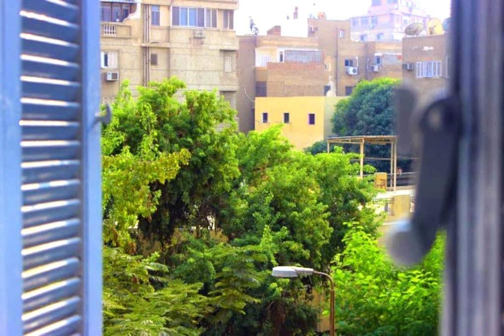 New furnished apartement in Degla Maadi - Maadi as Sarayat Al Gharbeyah - Apartment