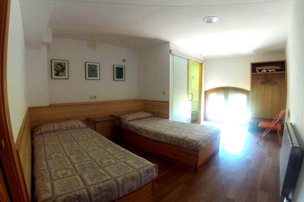 Habitación de 2 plazas con baño - Horta de Sant Joan - 家庭式旅館