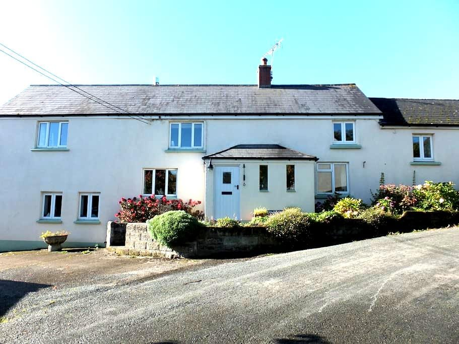 Farmhouse, Newton St Petrock (Bedroom 1) - Holsworthy - House