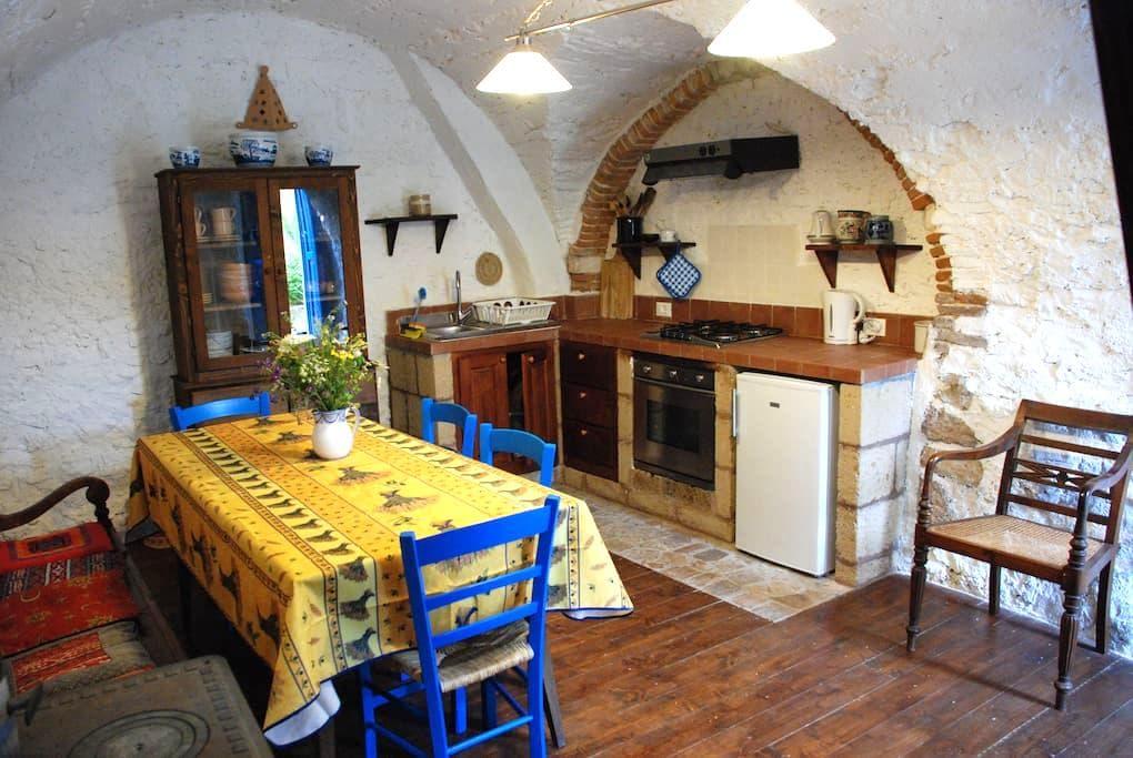 """""""Casa Blu"""" Country House - Goriano Valli - Rumah"""