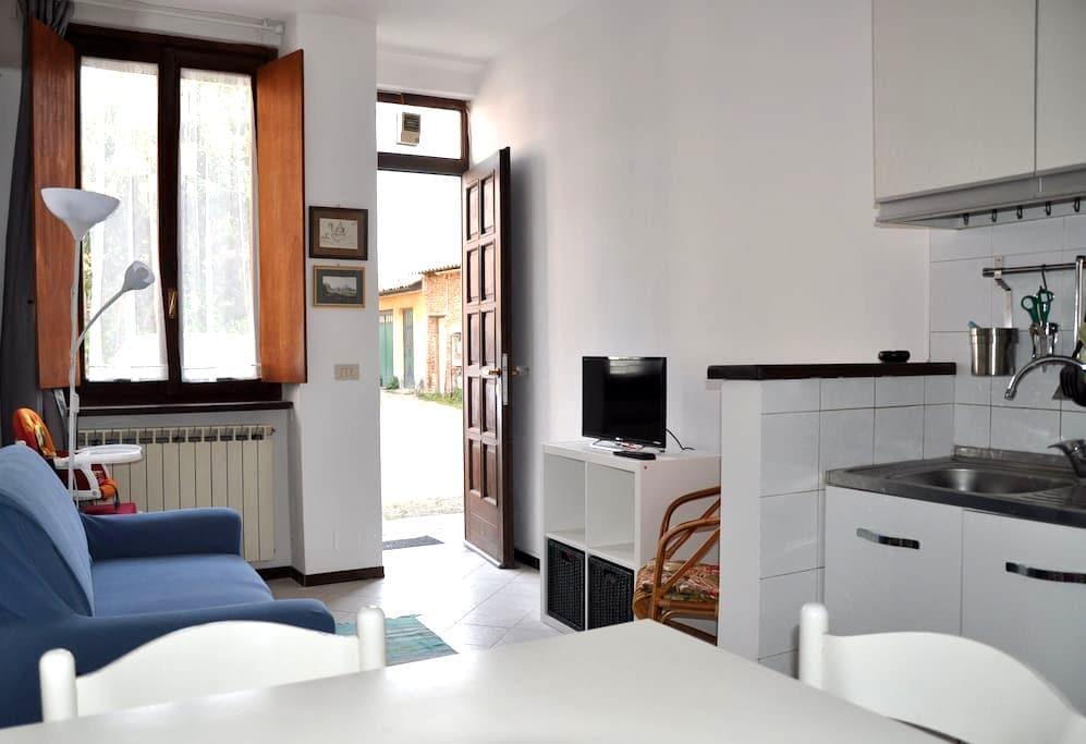 Casa di Mario (Mario's Haus) mit privatem PWK-Stel - Pavia