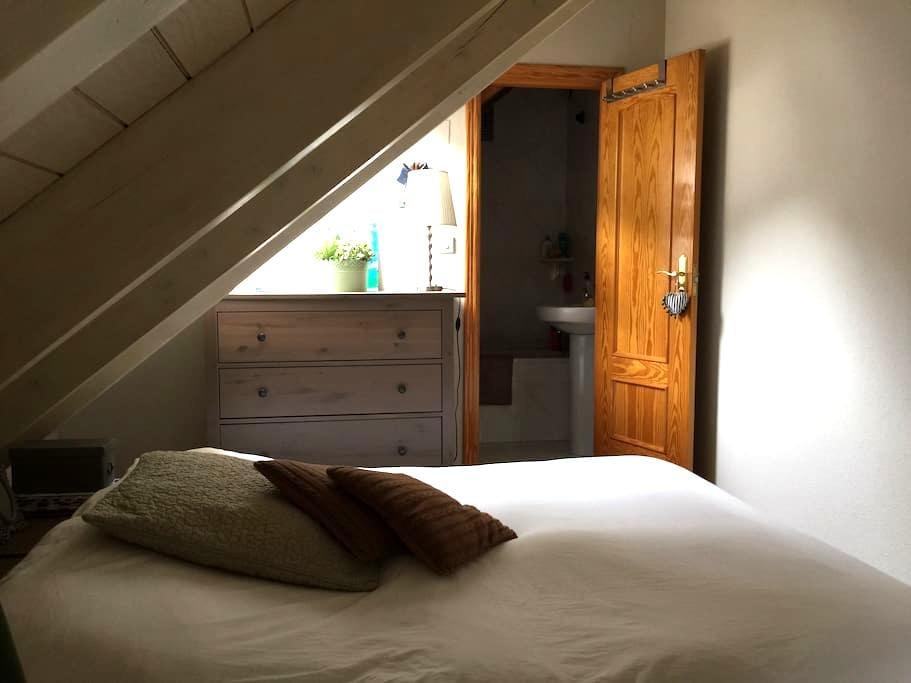Ático dúplex 3 dormitorios 2 baños - Sallent de Gallego - Appartement