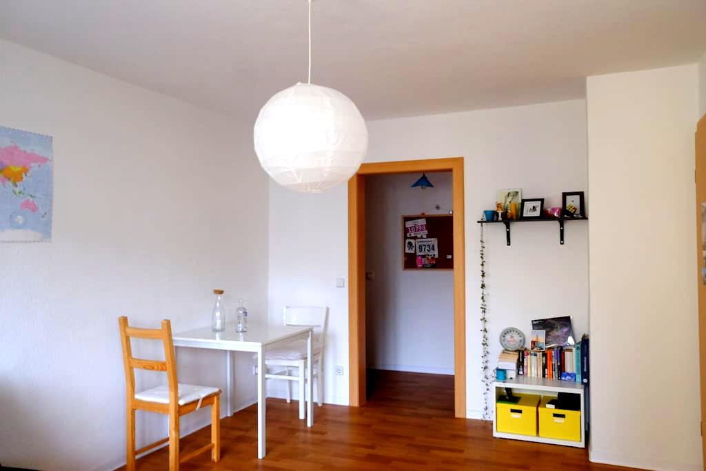 Bright, cozy room in Südvorstadt - Leipzig - Appartement