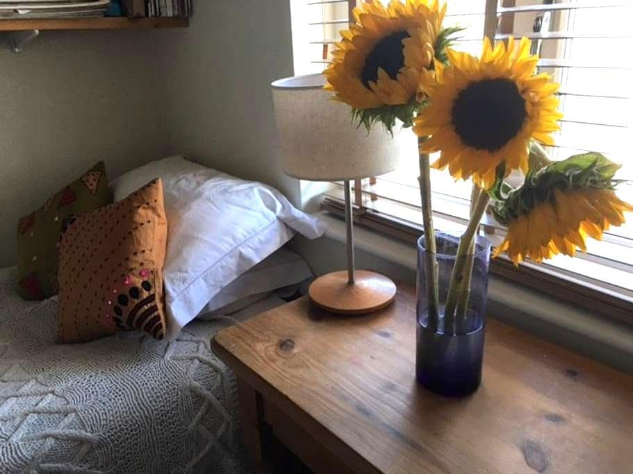 Sunny study/bedroom in Oxford city - Oxford - Bed & Breakfast
