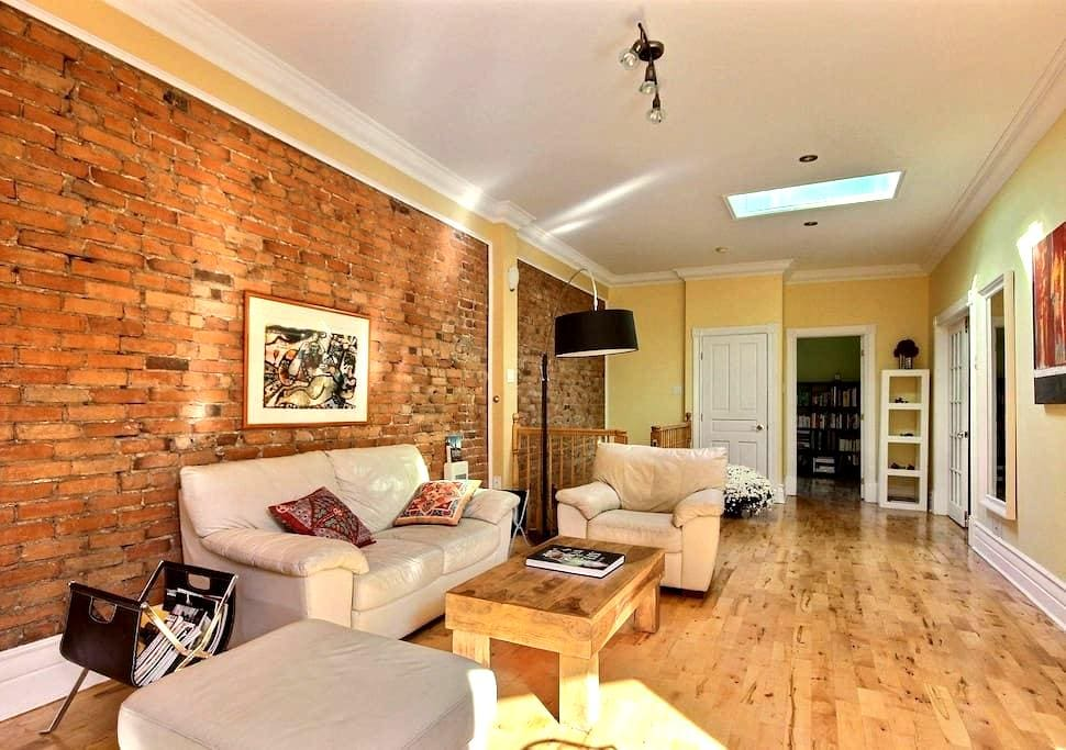 Superb 2-bedroom on the plateau! - Montreal - Appartamento