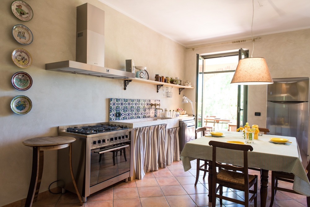 Fully equipped kitchen. Ideal for food and cooking lovers.