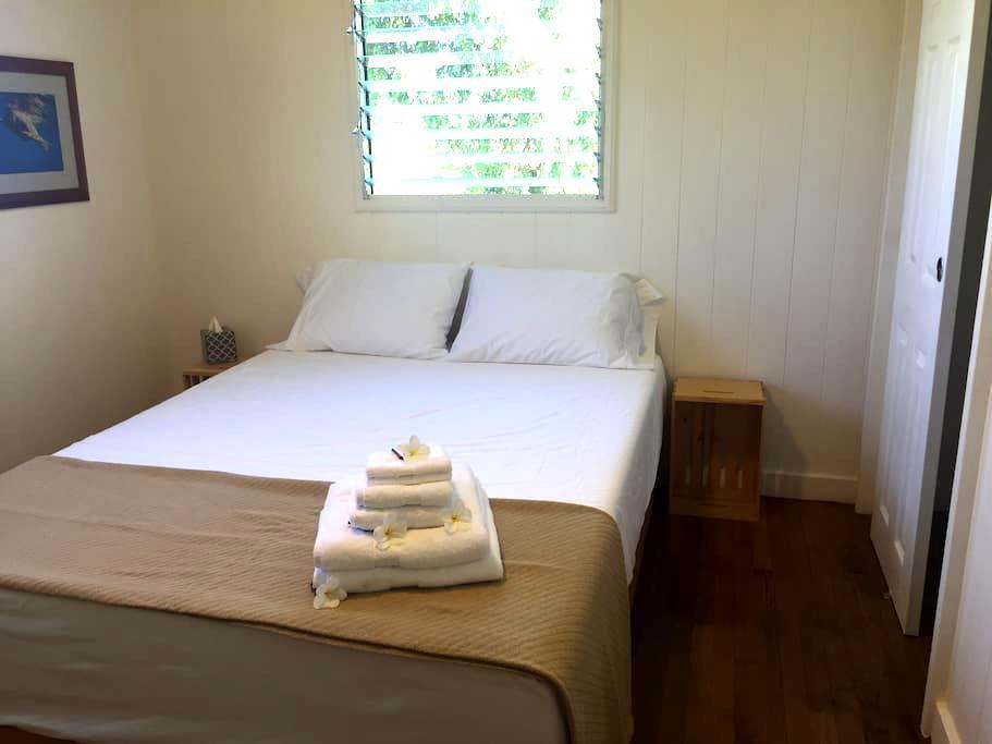 Waialua Beach Road House Center Room - Haleiwa - Ház