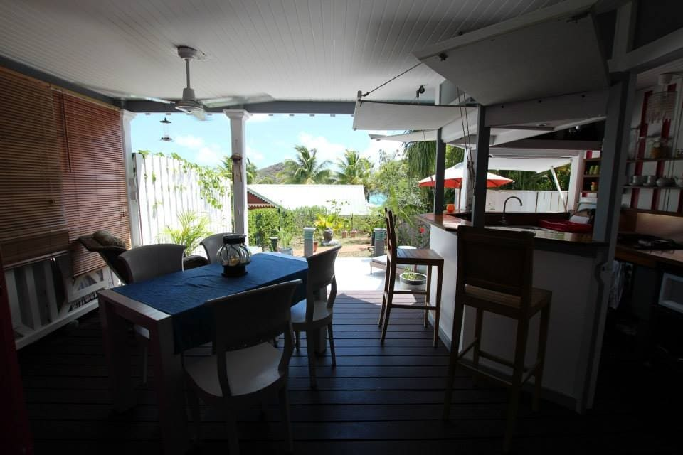 Bungalow sea view St Martin