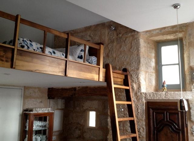 Sleeping mezzanine