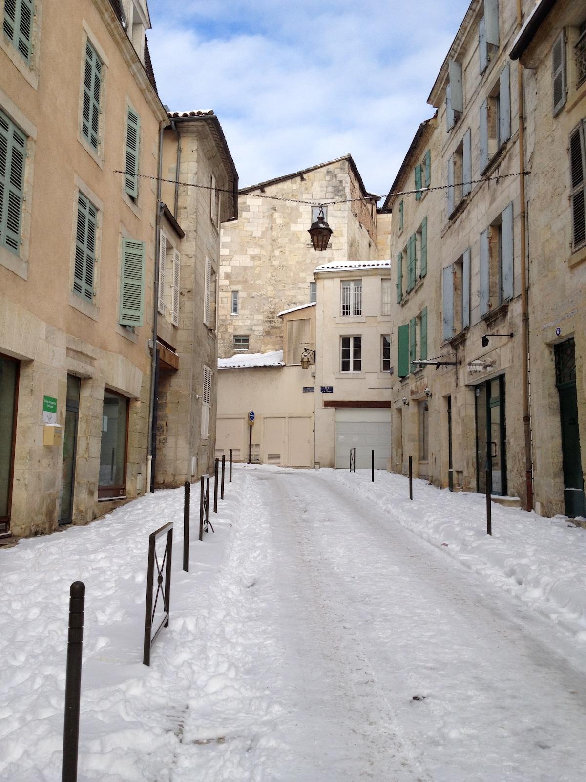 Street view in Winter