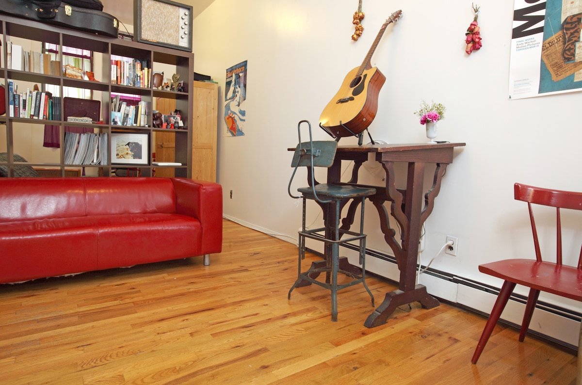 Greenpoint - with your own space!