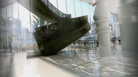 Take a picture at the famous stairs of Marcel Wanders