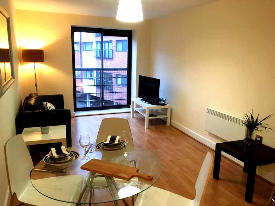 Bright city centre apartment - Birmingham - Pis