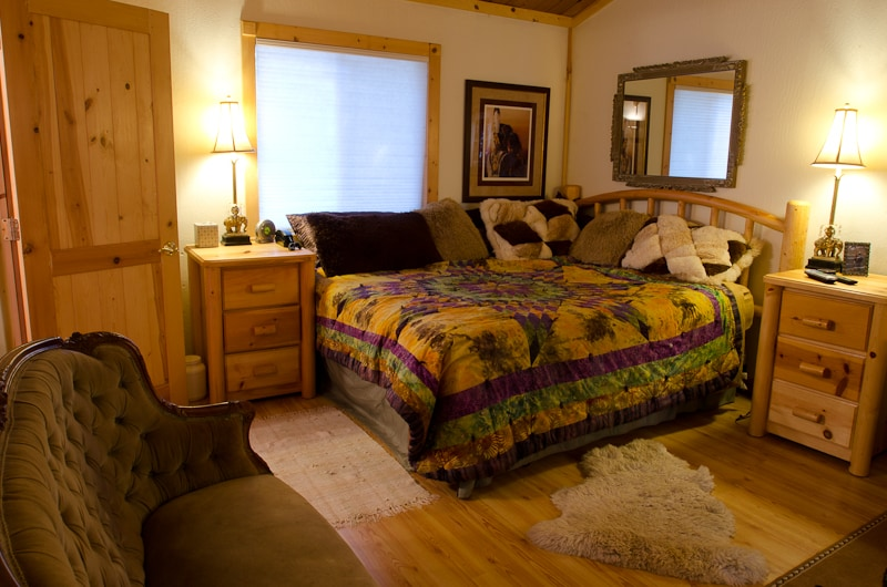 Master Bedroom with Cal King and private bath