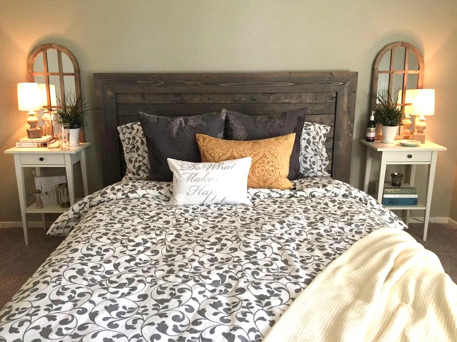 Cozy Guest Room & Private Bath in South Austin - Austin - Casa