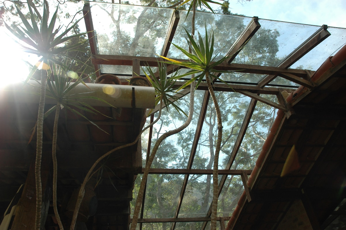 Relaxe na parte Bali, entre a Sauna e o Bistro olhando para o ceu pelo teto de vidro.