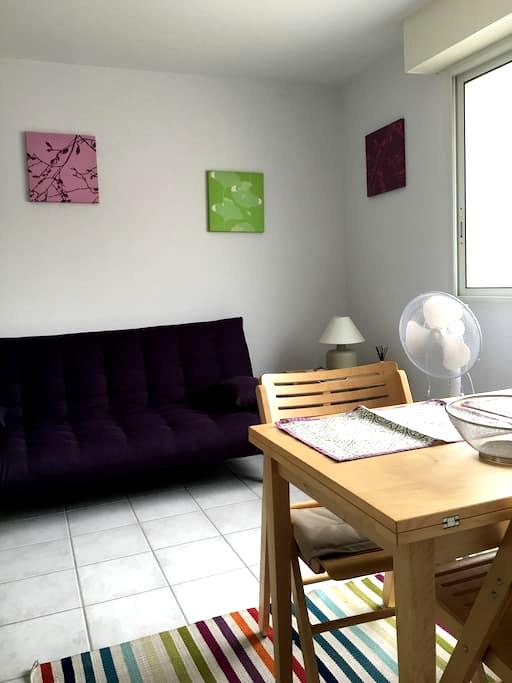 Studio sur la place du village - Bénesse-Maremne - Apartment