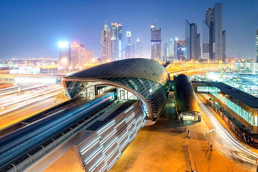 Clean & Compact by The Metro - 두바이(Dubai) - 아파트