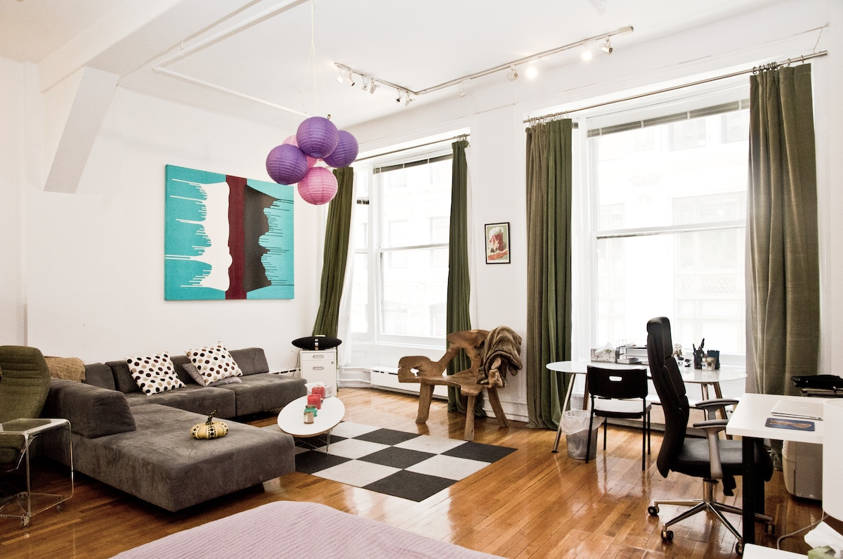 HUGE Loft in Financial District, NY