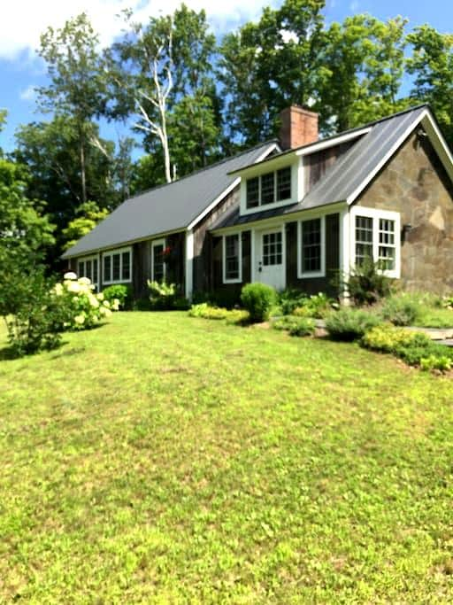 Vermont Barn Cottage in the Green Mountains - Underhill - Casa