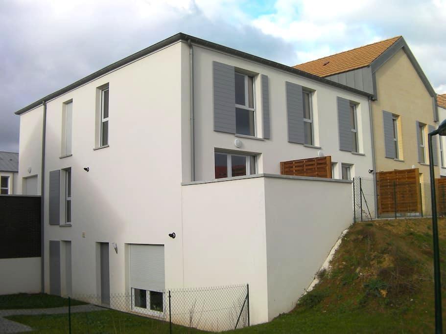 Duplex 10 min from Caen city center - Cambes en plaine - Apartamento
