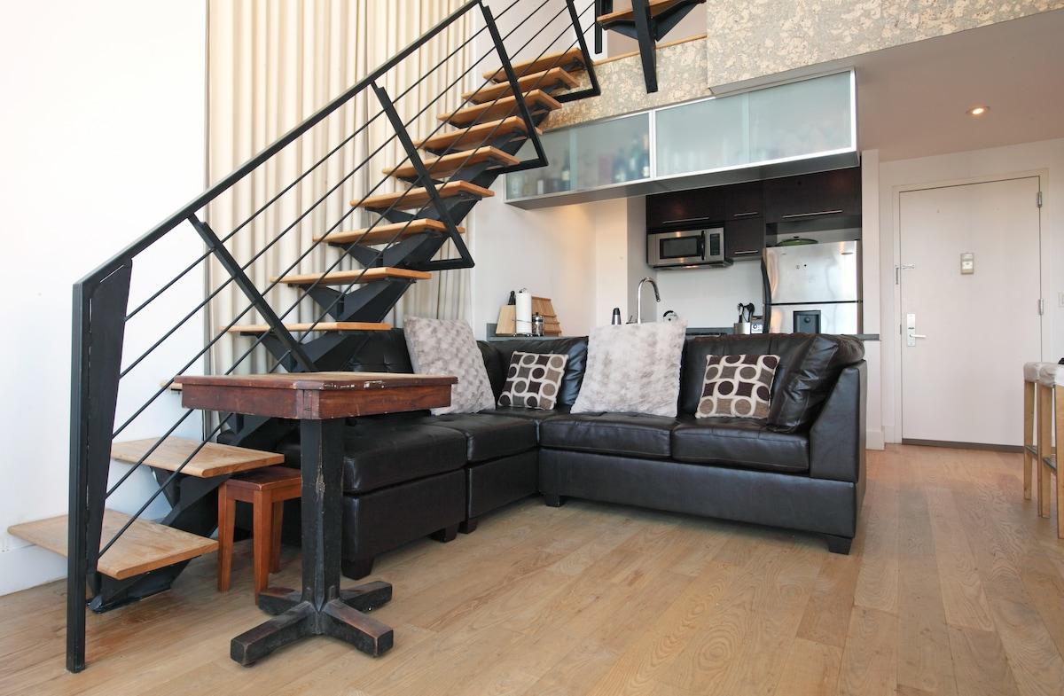 Luxury penthouse, Manhattan views