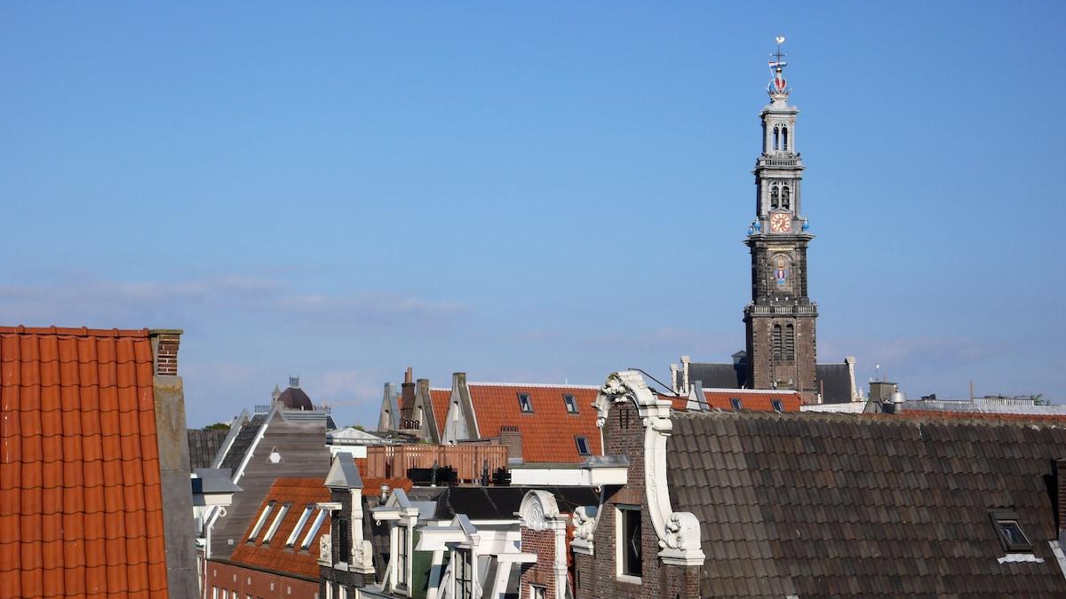 Apartment Jordaan with roof terrace