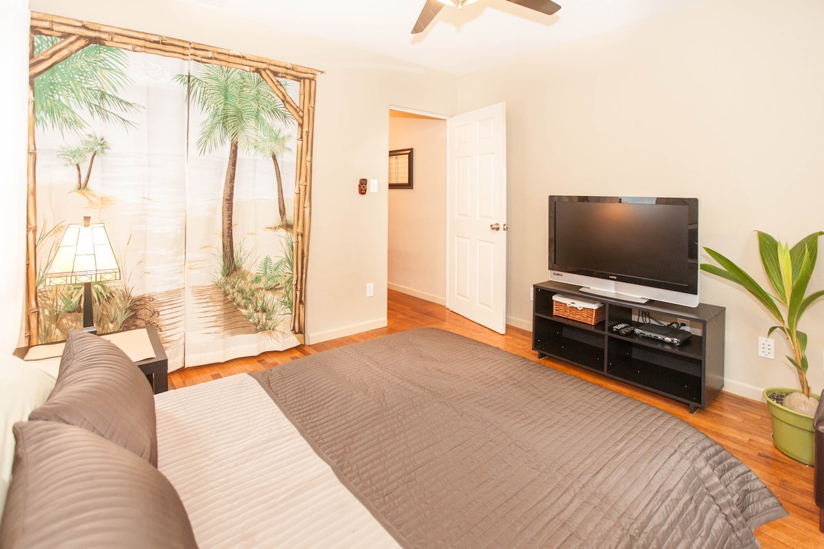 New Quiet Bedroom by the Beach