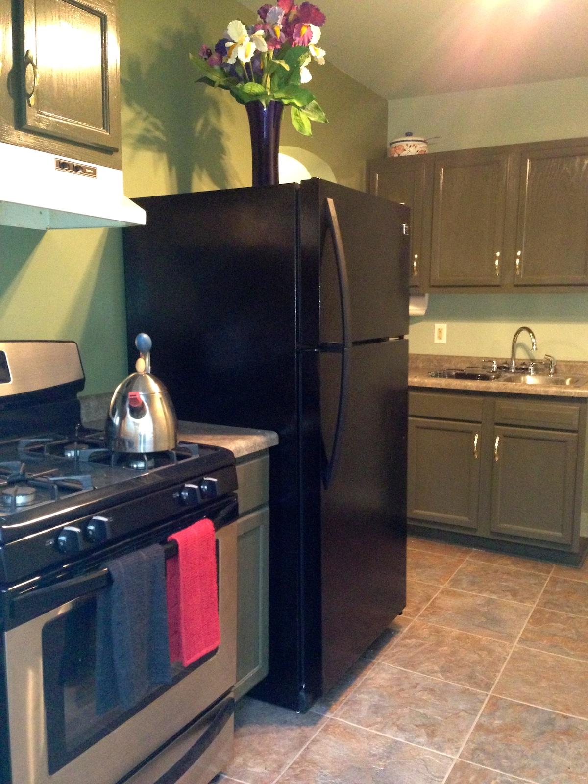 Charming kitchen.