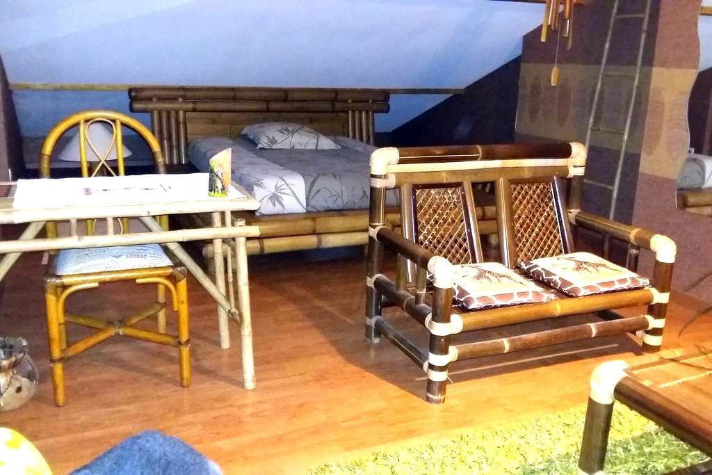 Suite Parentale Salle de Douche WC indépendants - Thonon-les-Bains - Apartament