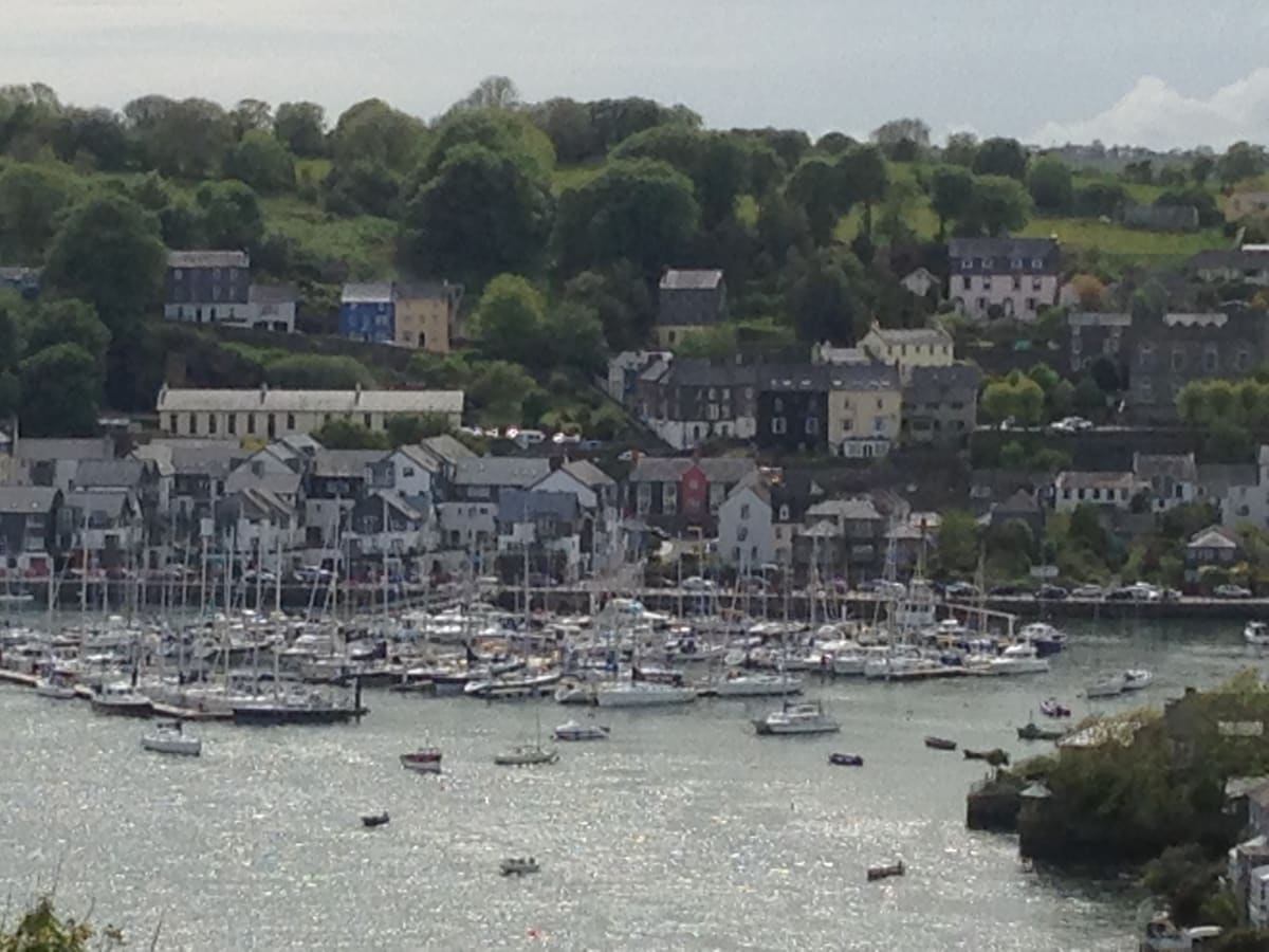 View of the harbour, Kinsale