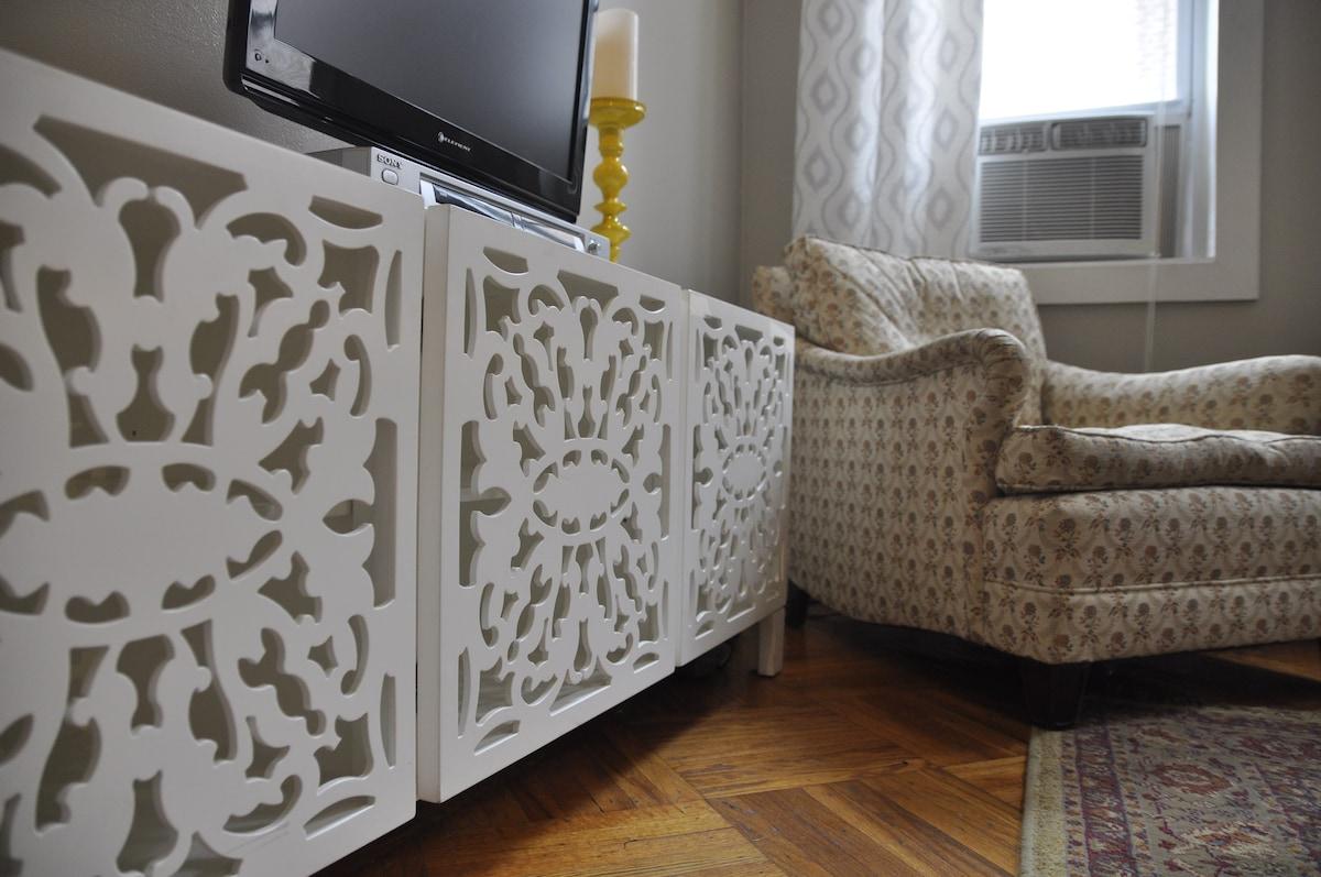 stylish furnishings