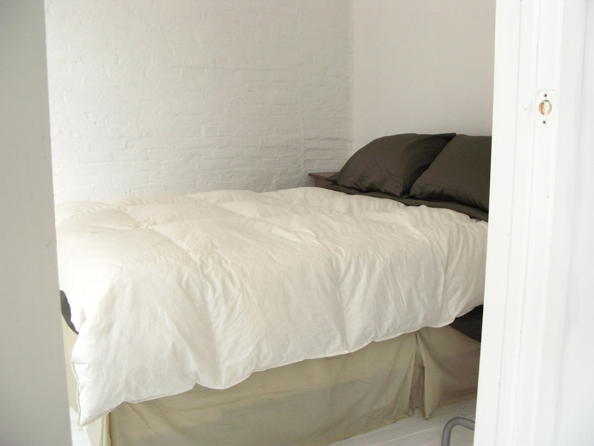 Bedroom 1 - Queen (extra large double) bed