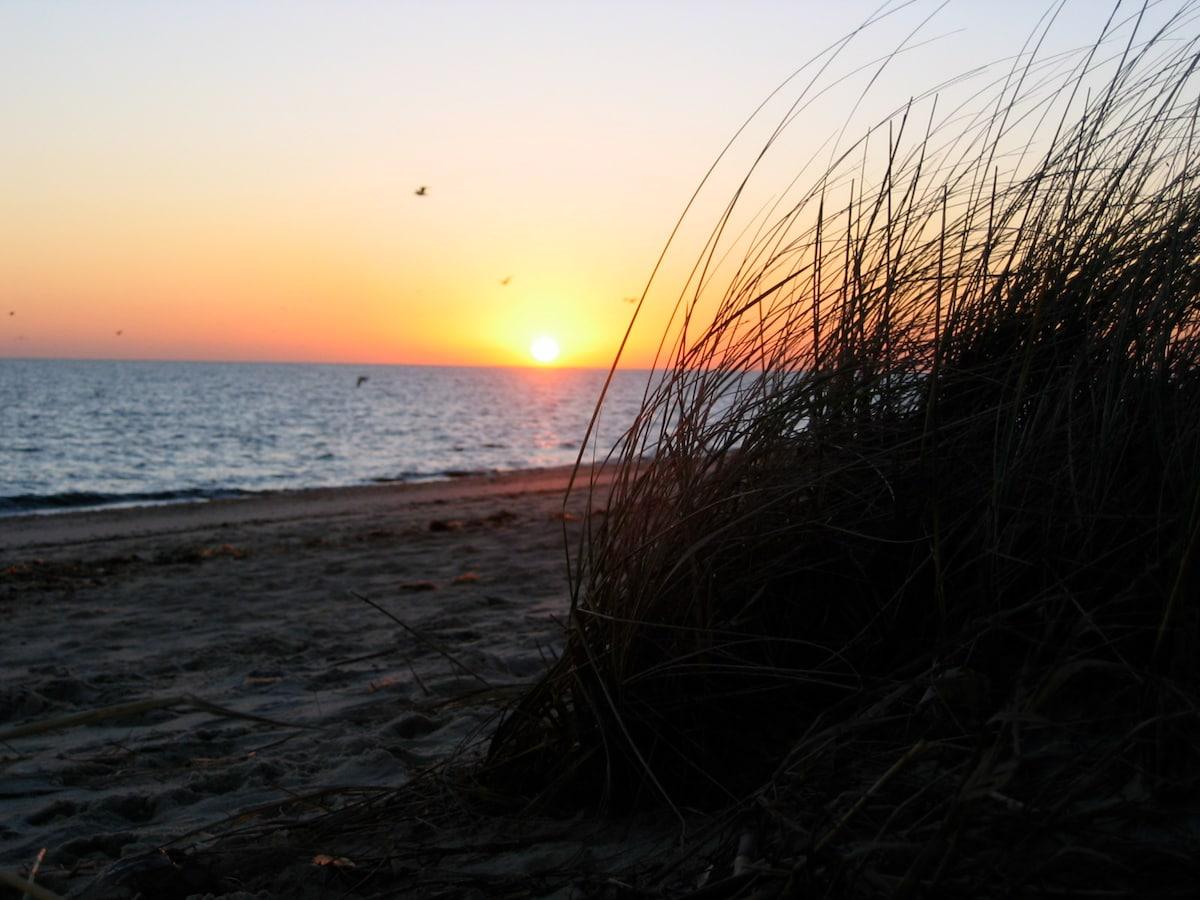beautiful sunrises on the bay await you...