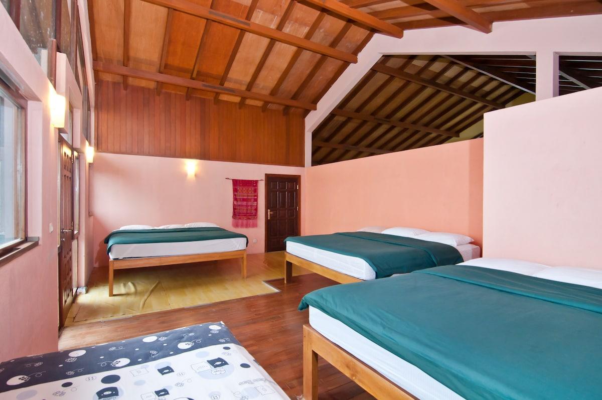 Villa Fortuno Bandung up to 16 pax