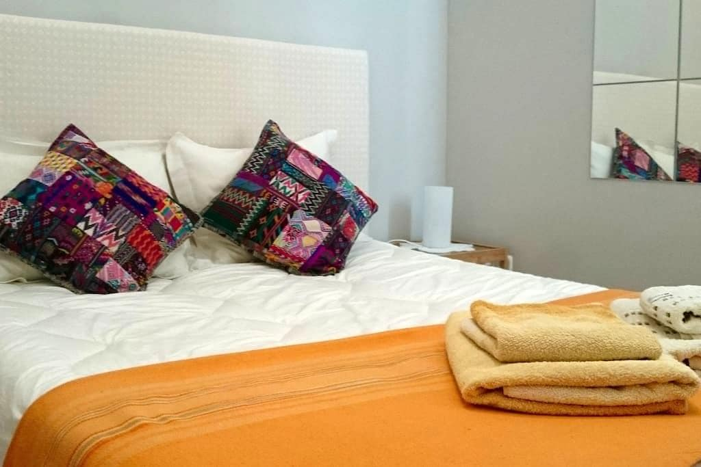 Bedroom next to museums area, CENTER/ ATOCHA, WIFI - Madrid - Byt