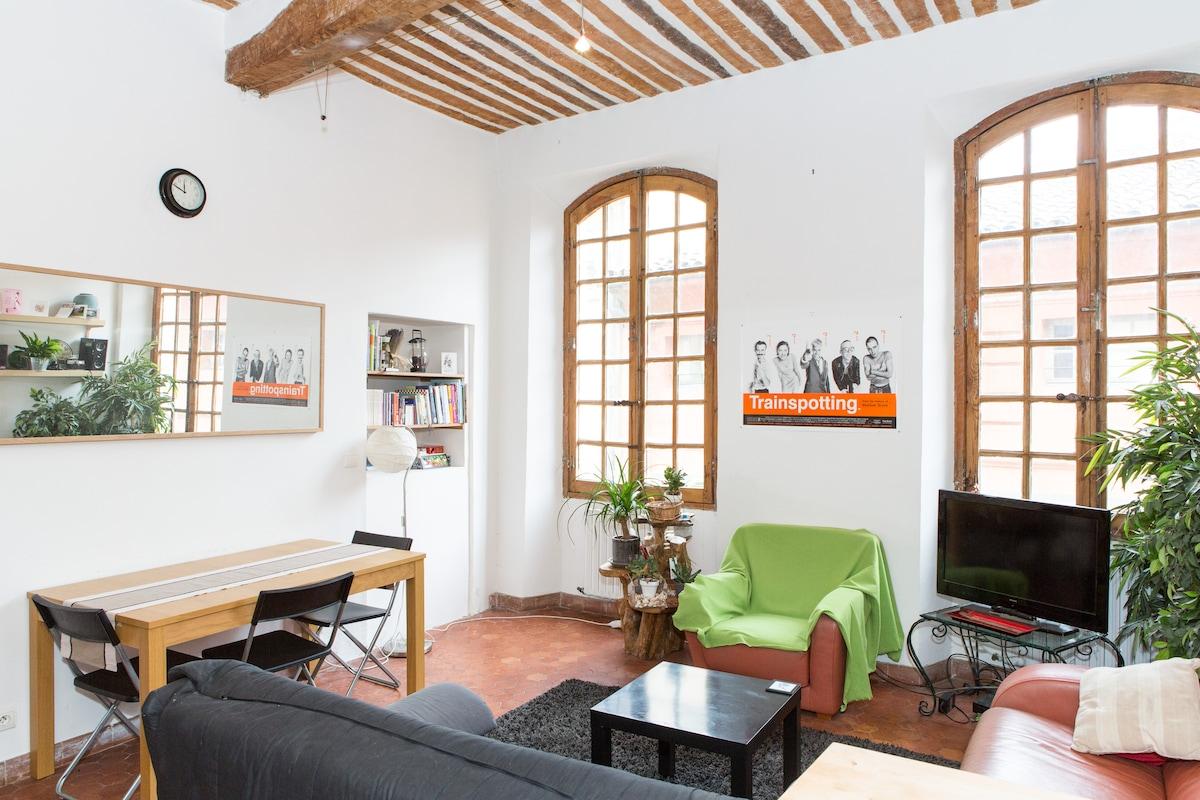 Cosy apartment in historic centre