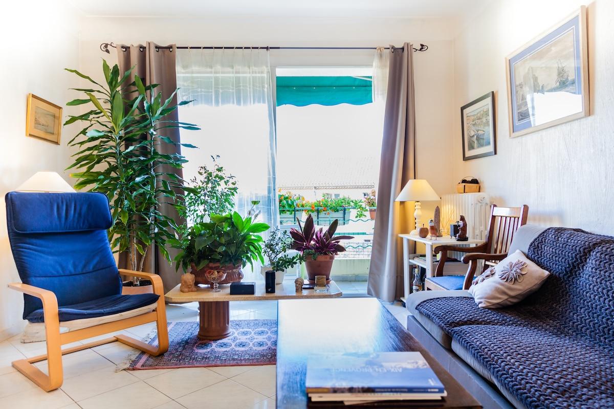 Quiet apartment in city center