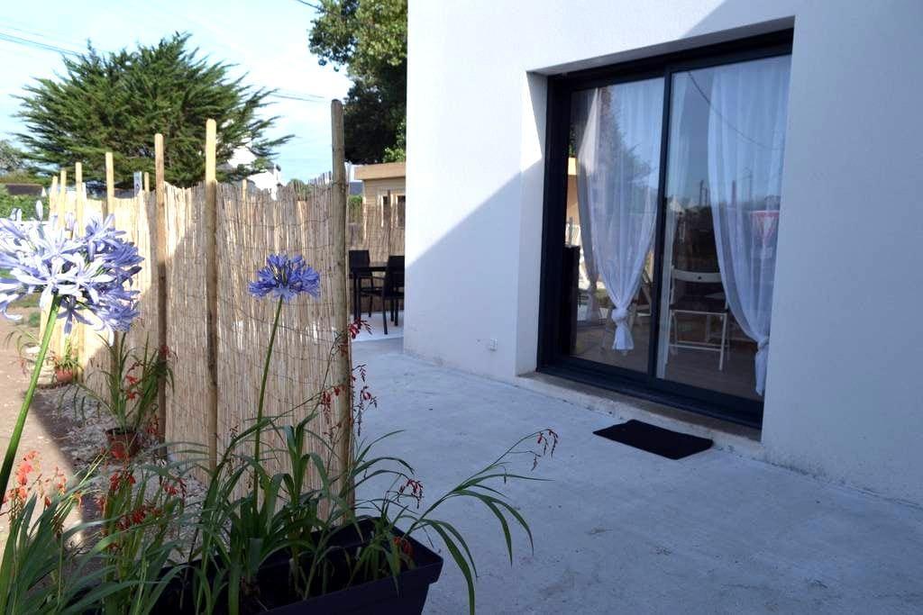 Jolie maison neuve à 150m de la plage - Penmarch