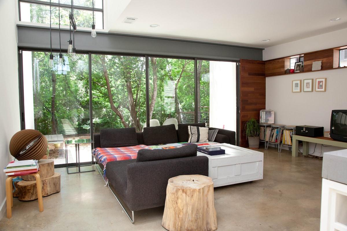 Modern Home in Central Austin