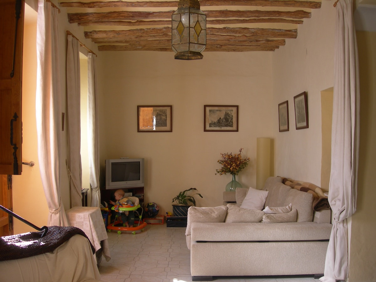 Lovely town house in rural spain