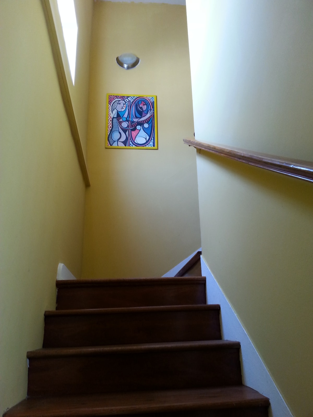 stairs leading upstairs