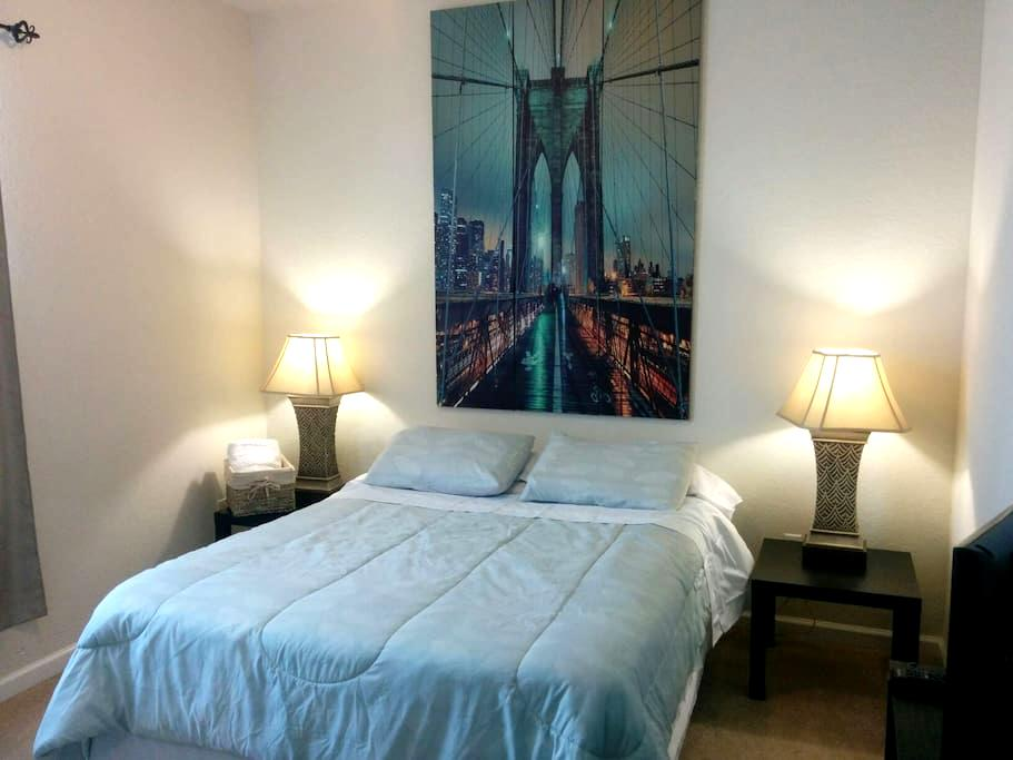 Private and comfy room close to Universal - Orlando - Appartement