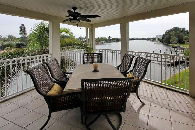 Somewhere in St Pete Beach, a picturesque balcony waits for you,
