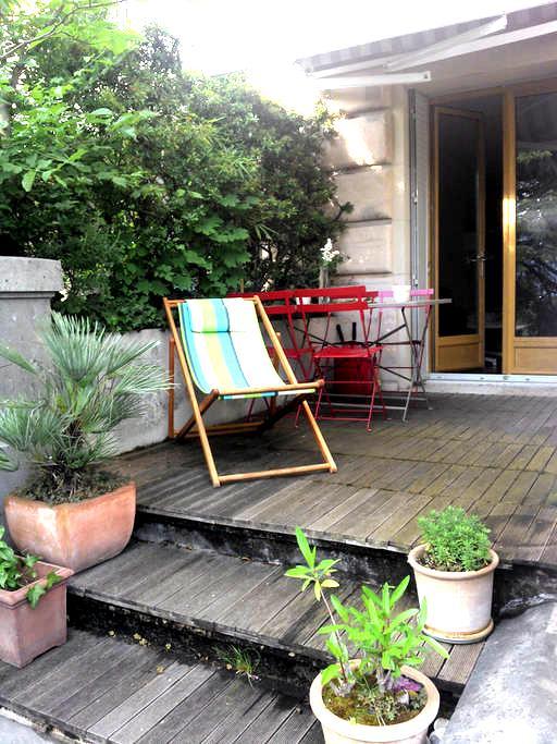 Appart à 2 pas du centre et 200 m des thermes - Aix-les-Bains - Apartamento
