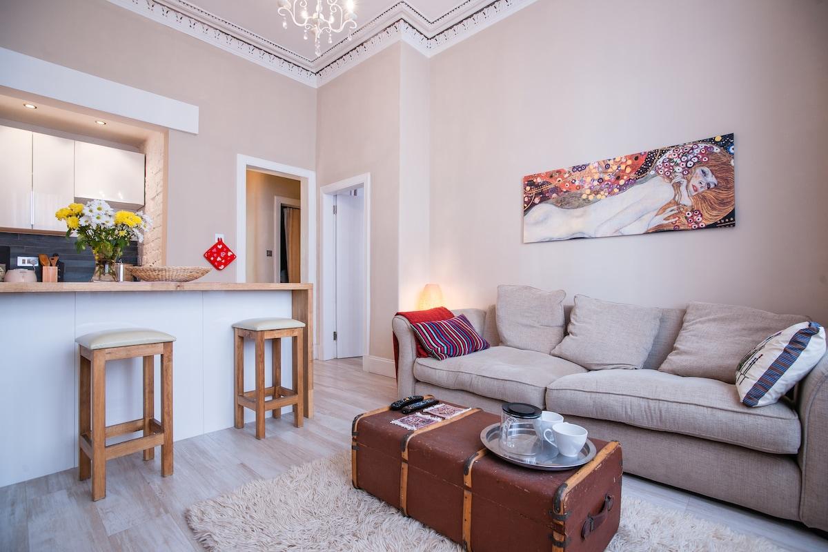 Cozy apartment in Glasgow