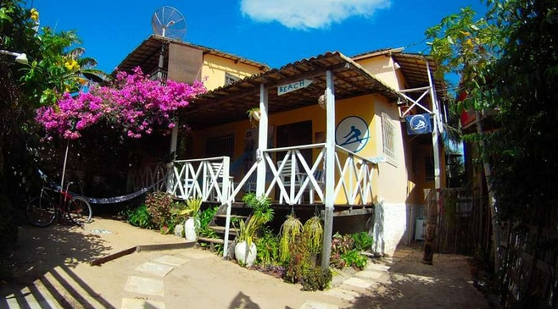 surf camp hostel - private & shared