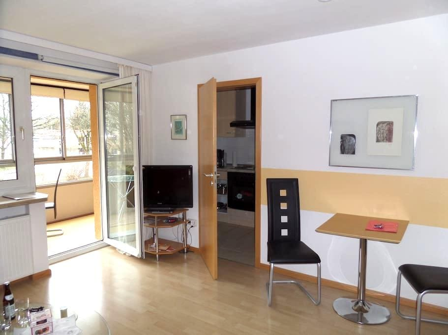 Sunny apartment Germering/b. München - Germering - 公寓