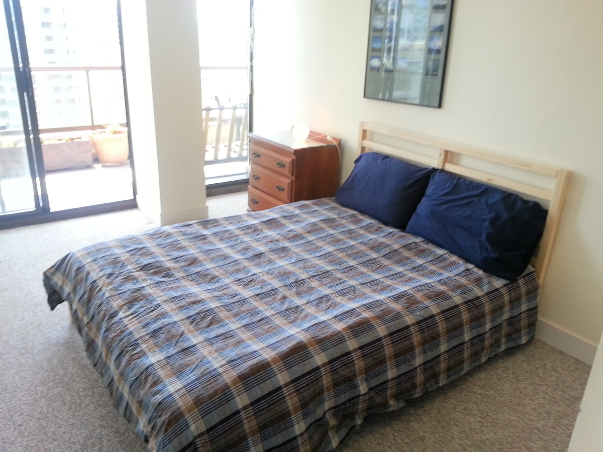 Second bedroom with double