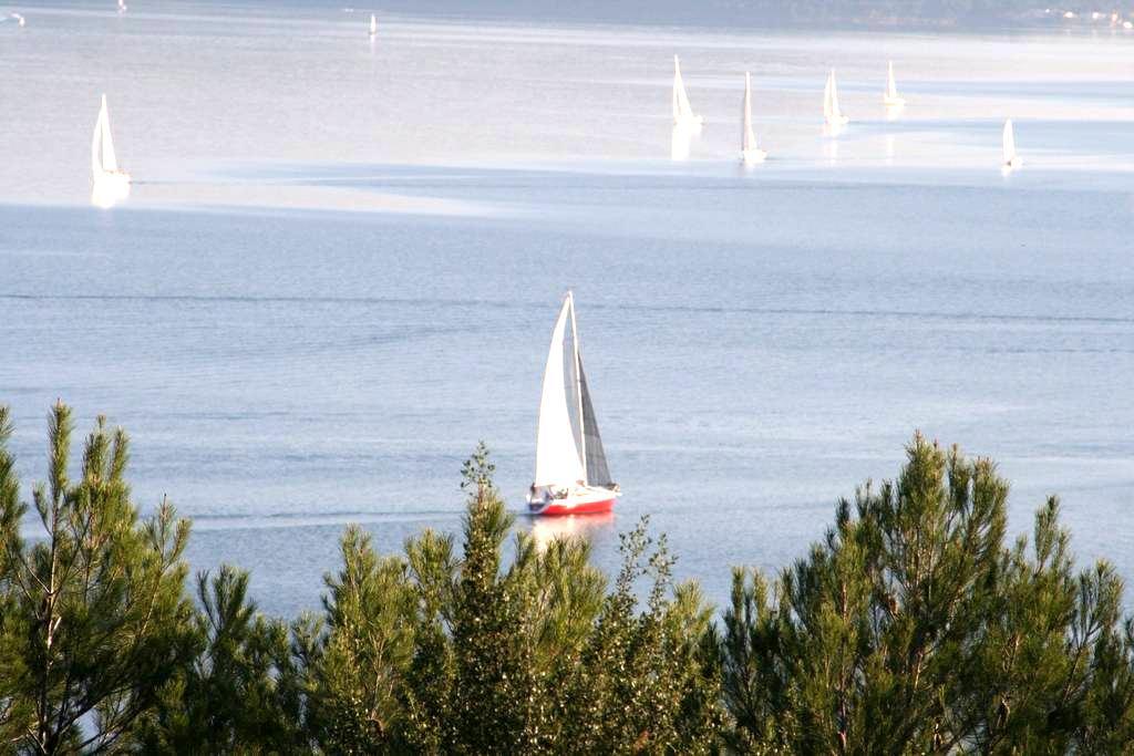 Petit mas en Provence superbe vue - Istres - บ้าน